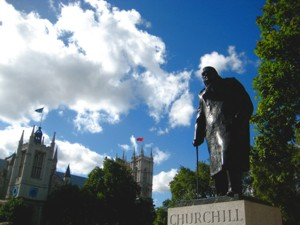 churchill and westminster abbey